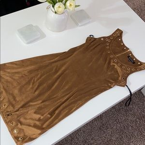 Faux Leather Guess Dress